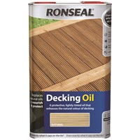 Ronseal  Decking Oil - 5 Litre