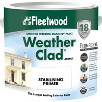 Fleetwood Weather Clad Stabilising Primer Clear - 2.5 Litre