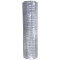 BAT Metalwork  Light Welded Steel Mesh - 30 metre Roll x 1mm