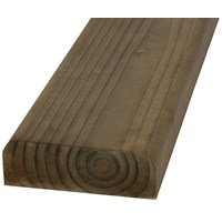 SNR  Treated D Rail Timber Fence Panel - 100 x 35mm